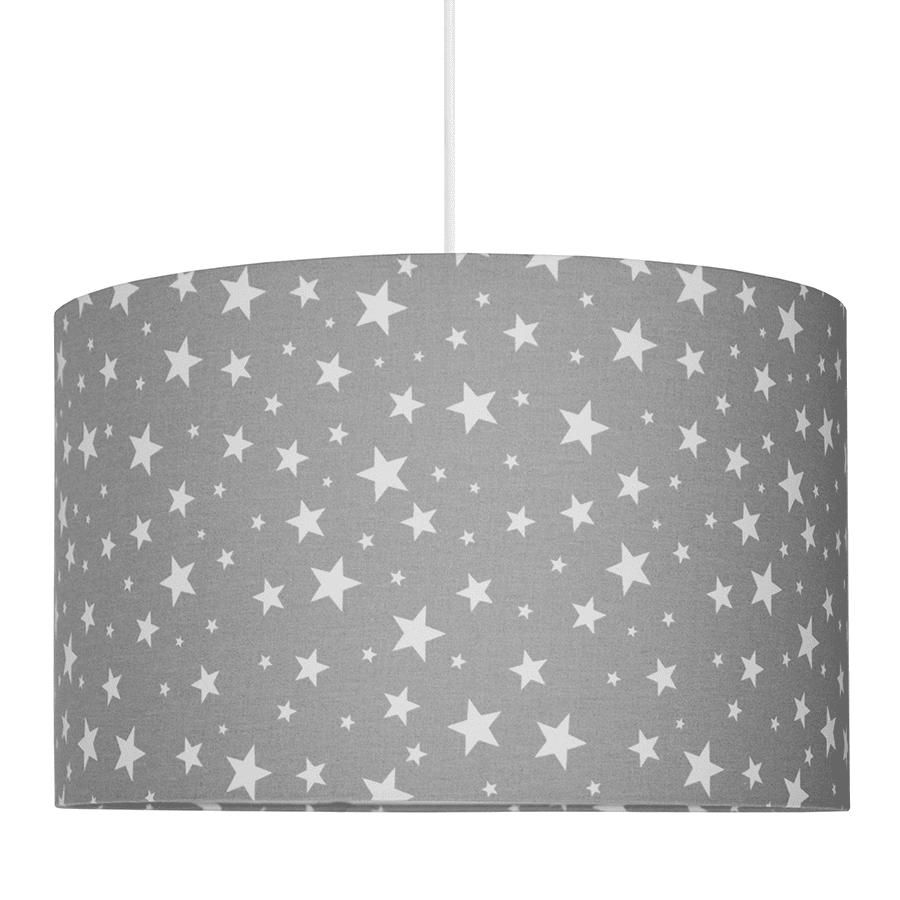 szara-lampa-wiszaca-dla-dzieci-lampa-dziecieca-w-gwiazdki-lampki-dla-dzieci