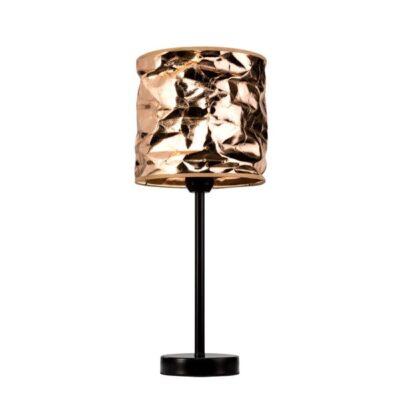 miedziany-abazur-pomarszczenia-stylowa-lampa-nocna