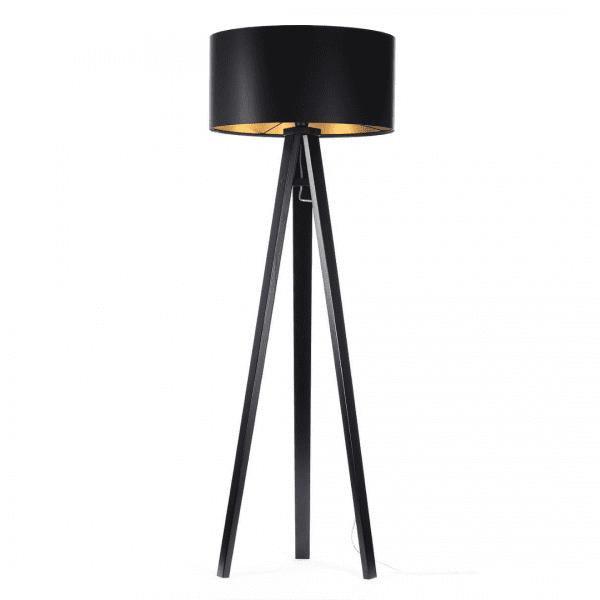 lampa-podlogowa-na-trzech-nogach-czarna-lampa-stojaca-ze-zlotym-wnetrzem
