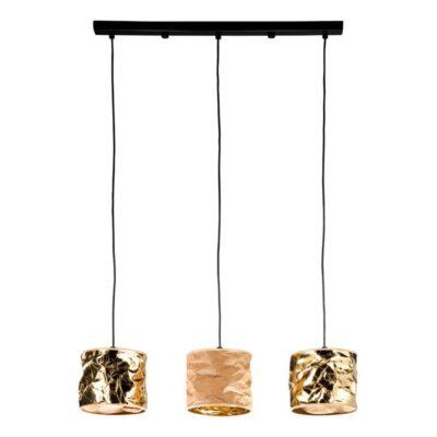 lampa-wiszaca-kolor-abazuru-zloto-bezowy-trzy-zrodla-swiatla