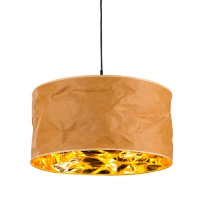 zwis-pojedynczy-lampa-papierowa-bezowo-zlota