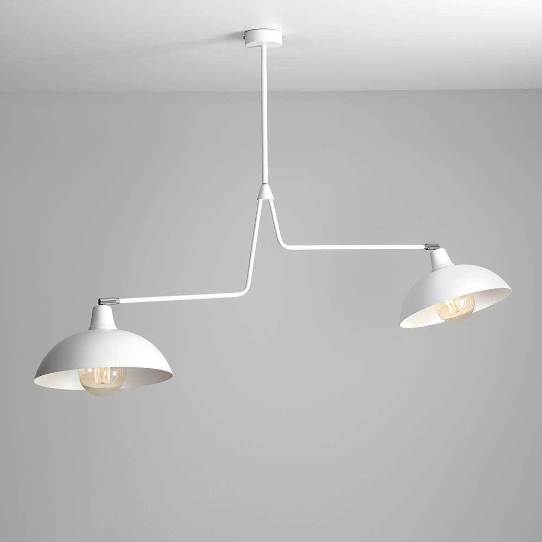 biala-lampa-wiszaca-nowoczesna