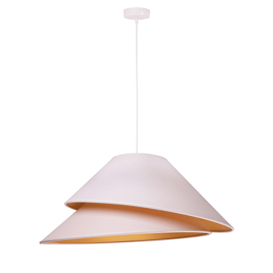 lampa-wiszaca-zlote-wnetrze-stozkowe-lampy-z-abazurem