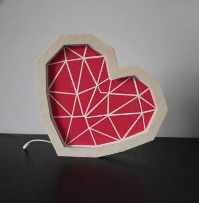 czerwona-lampka-dekoracyjna-serduszko-led