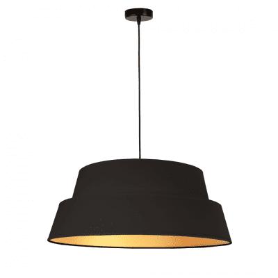 czarna-lampa-ze-zlotym-wnetrzem-nowczesne-lampy-wiszace-glamour