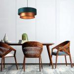 zielona-lampa-z-miedzianymi-elementami