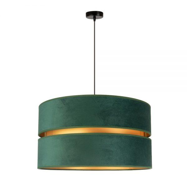 elegancki-zyrandol-z-zielonym-abazurem