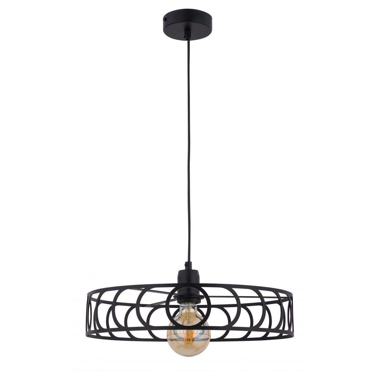 czarna-lampa-wiszaca-w-stylu-minimalistycznym