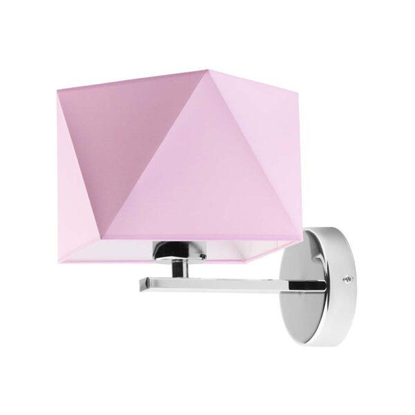 rozowy-kinkiet-lampka-scienna-dla-dziewczynki