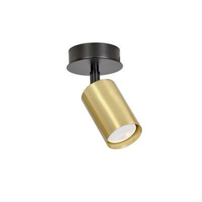lampy-punktowy-zloty-reflektor-spot-sufitowy-z-regulacja