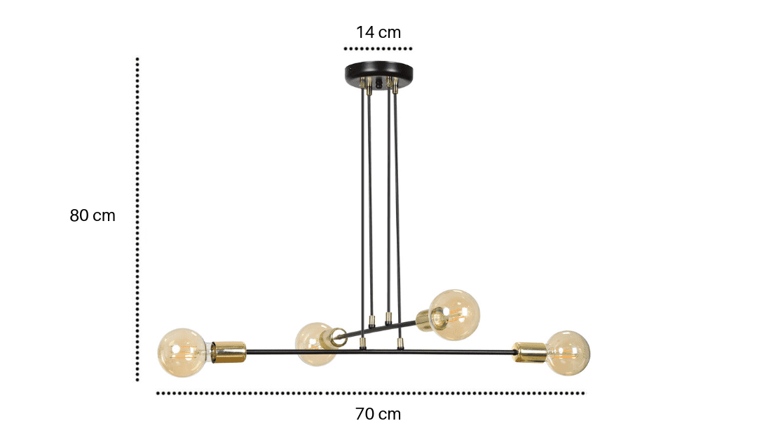 Lampa w stylu loftowym Madison IV