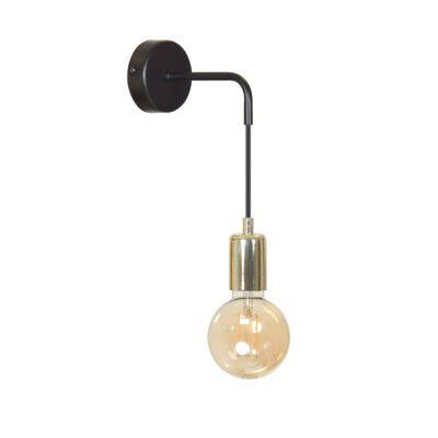 czarny kinkiet-zwisająca-lampa-scienna-modne-lampy-na-sciane