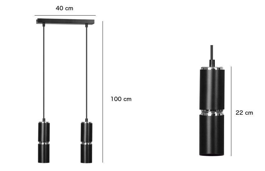 Minimalistyczna lampa wisząca Slim 1 do kuchni