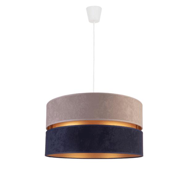 lampa-z-abazurem-do=sypialni-modne-lampy-sufitowe