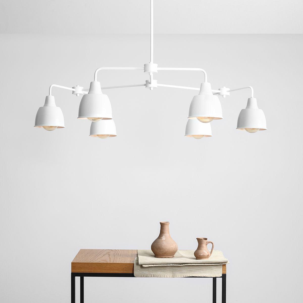 biala-lampa-sufitowa