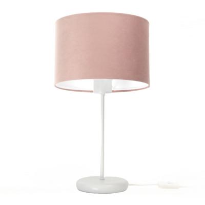 lampka-nocna-z-rozowym-abazurem